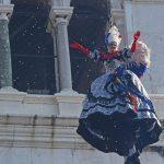 Venezia,{ today}, carnevale 2018 - volo dell'angelo Elisa Costantini (c)Vision/Vela